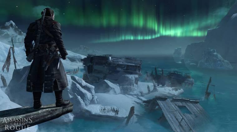 Gamescom 2014 - videón az Assassin's Creed: Rogue bevezetőkép