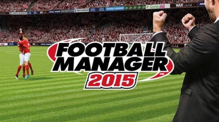 Football Manager 2015 megjelenés - még egy játék az őszi szezonra bevezetőkép