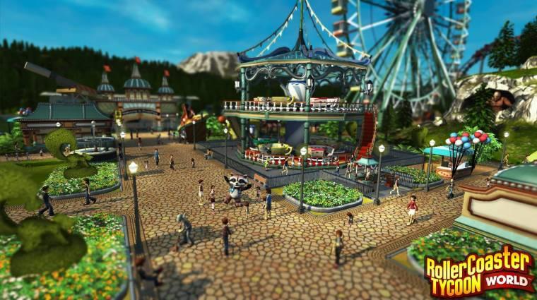 RollerCoaster Tycoon World - átdolgozzák a grafikát bevezetőkép