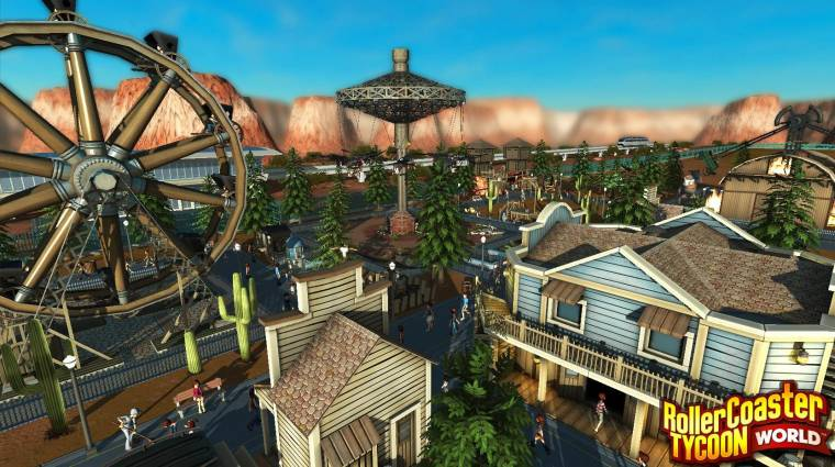 RollerCoaster Tycoon World - nem ájultunk el a trailertől bevezetőkép