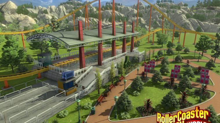 RollerCoaster Tycoon World - na, mindjárt jobban néz ki (videó) bevezetőkép