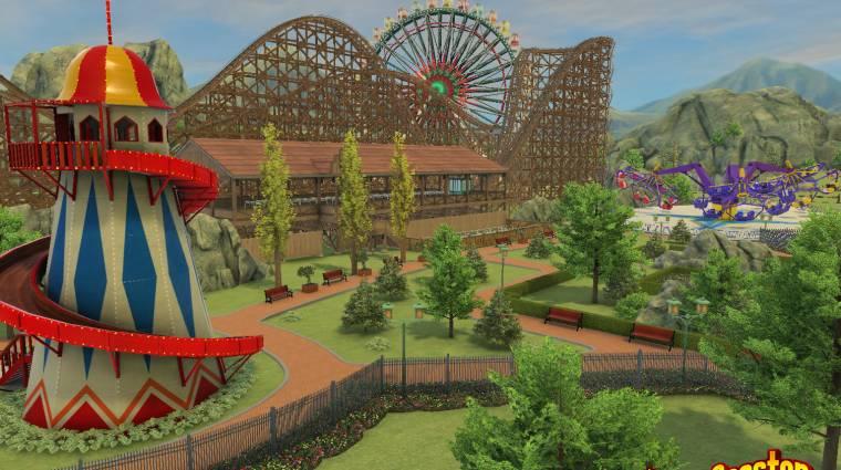 Gamescom 2015 - hozza a kötelezőt RollerCoaster Tycoon World bevezetőkép