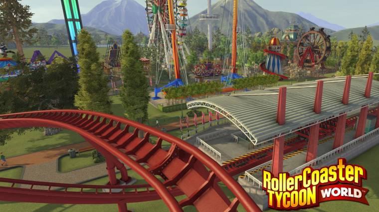 RollerCoaster Tycoon World - megvan, mikor indul a béta bevezetőkép