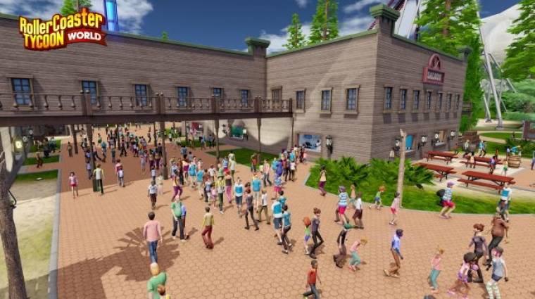 RollerCoaster Tycoon World megjelenés - ez érdekes lesz... bevezetőkép