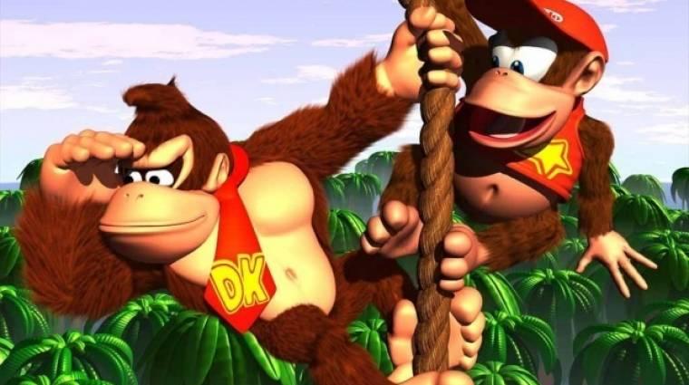 Nintendo Switchre érkezik a Donkey Kong Country bevezetőkép