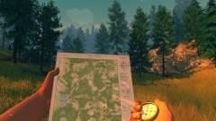 Firewatch - nyomtasd ki a játék térképét kép