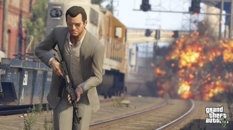 Grand Theft Auto V - káosz lassításban (videó) bevezetőkép