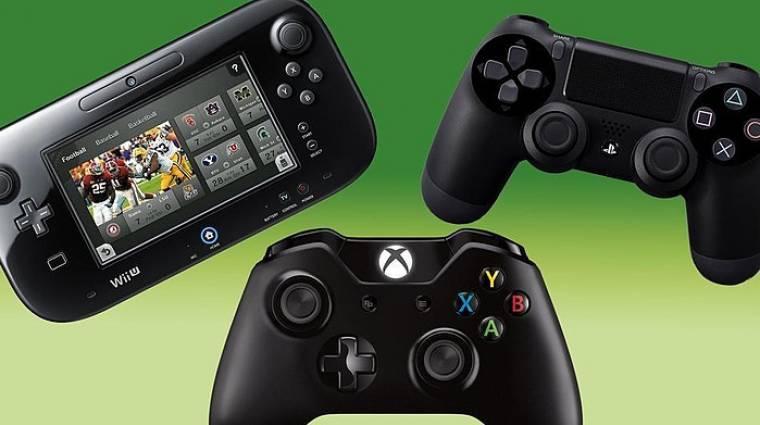 Konzolháború: erősödött a Wii U, hajrázik az Xbox One bevezetőkép