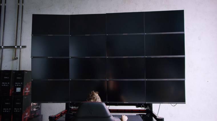 Ilyen a játék egy 16K-s monitorszörnyetegen bevezetőkép