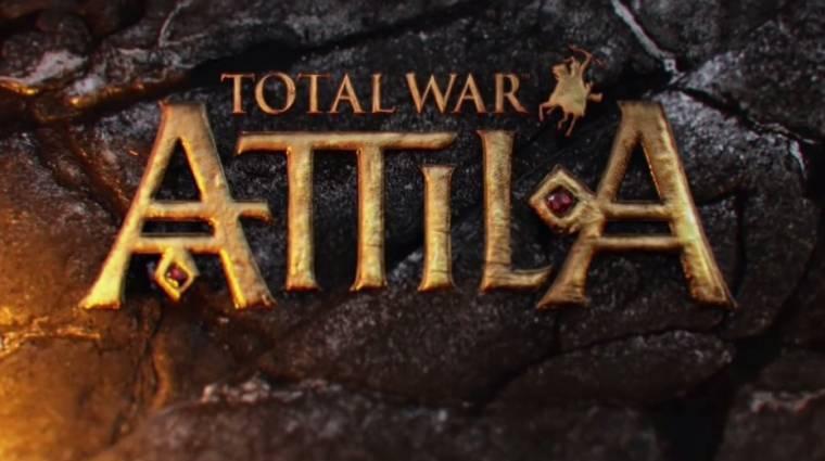 Total War: Attila bejelentés -  jövőre  jönnek a hunok bevezetőkép