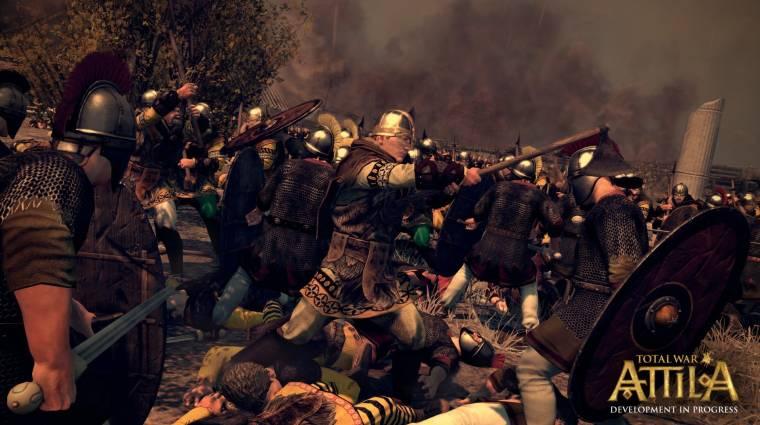 Total War: Attila - ilyenek lesznek a történelmi csaták (videó) bevezetőkép