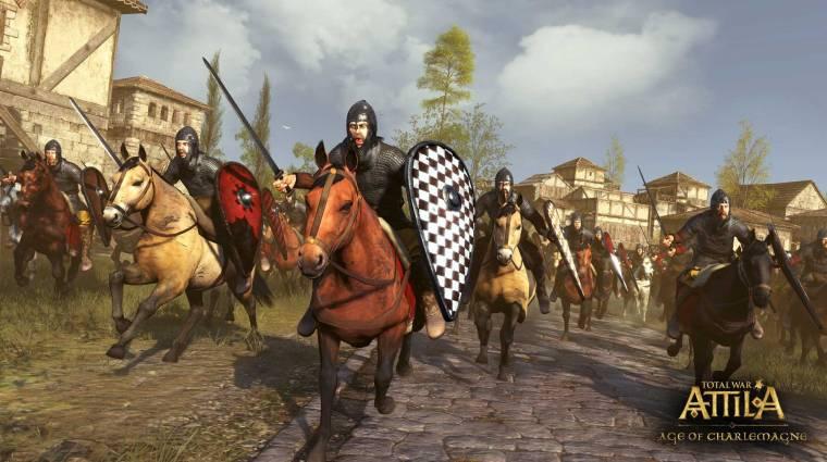 Total War: Attila - Nagy Károly korába megyünk (videó) bevezetőkép