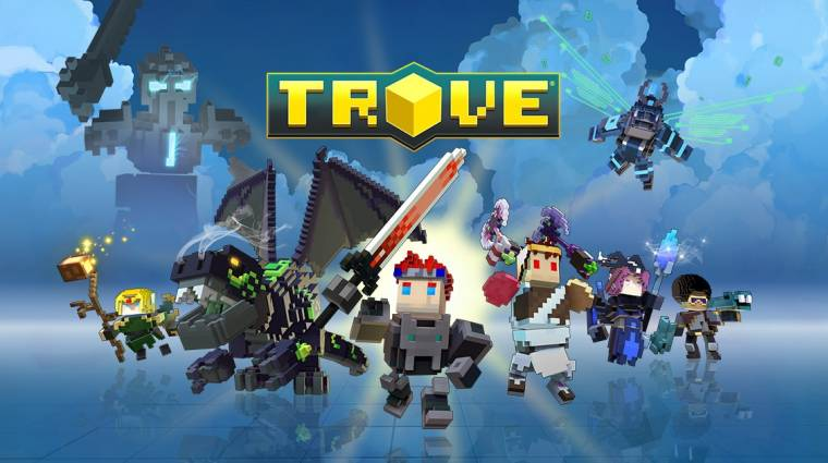 Trove - konzolokra is beköltözött a Minecraft stílusú MMO bevezetőkép