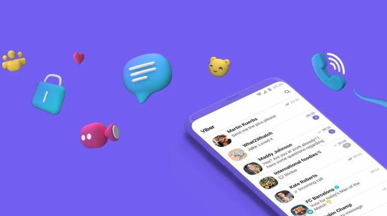 A Viber minden szinten szakít a Facebookkal kép