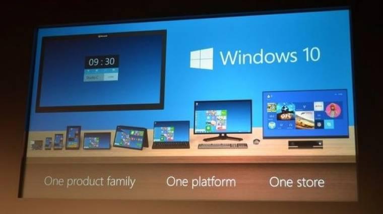 Tudjátok, mi lesz a Windows 9 neve? Windows 10 bevezetőkép