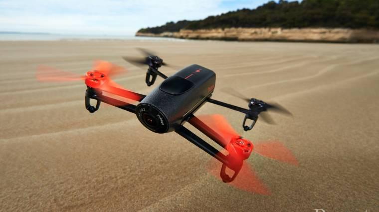 Jövő év elejétől kizárólag a kormány által jóváhagyott alkalmazással lehet drónt reptetni kép