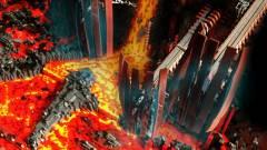 Star Wars - a Csillagok Háborúja emlékezetes jelenete, hatvanezer LEGO kockából kép