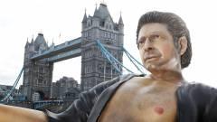 Ma már nem látsz betegebbet ennél a hétméteres Jeff Goldblum szobornál kép