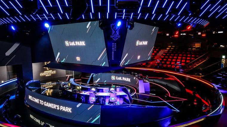 League of Legends - nagyon menő a Dél-Koreában megnyitott LoL Park, a Worlds 2018 első helyszíne bevezetőkép