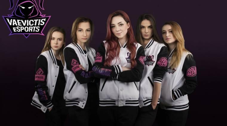 League of Legends - az LCL egyik csapata egy teljes női osztagot vett fel bevezetőkép