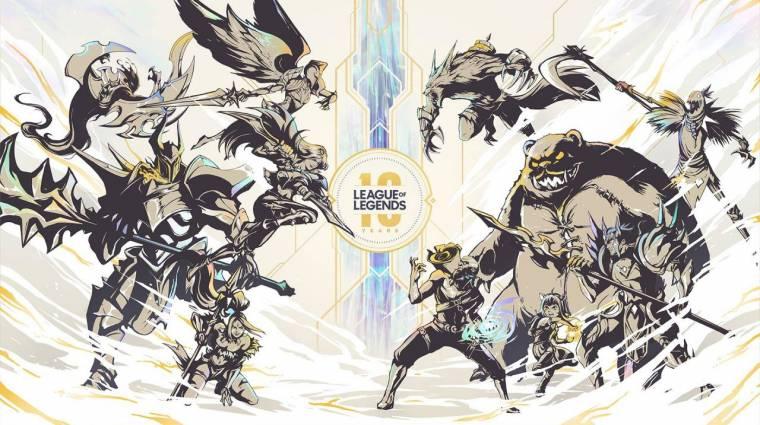 League of Legends - ezekkel készül a Riot Games a 10. születésnapra bevezetőkép