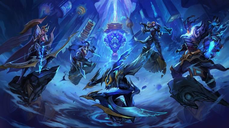 A koronavírus miatt pácban a League of Legends e-sport bevezetőkép