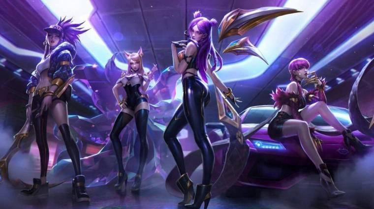 Számos új énekessel állt össze a League of Legends saját k-pop bandája bevezetőkép