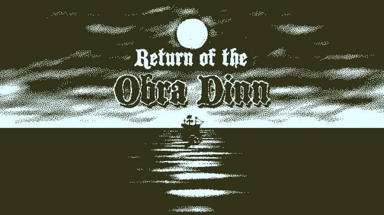 Return of the Obra Dinn - konzolokra is érkezik a tavalyi év egyik legjobb indie játéka bevezetőkép