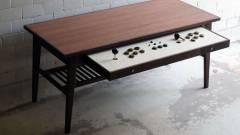 Ez az arcade kontrollerré alakítható asztal a nappalink fénypontja lenne kép