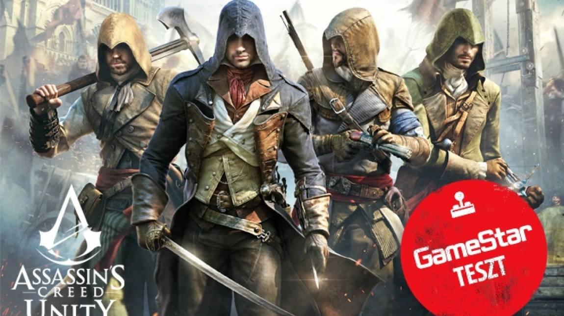 Assassin's Creed Unity teszt - az elsuttogott forradalmi ének bevezetőkép