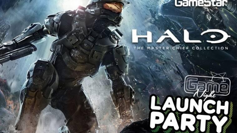 GameNight - Halo: The Master Chief Collection launch party bevezetőkép