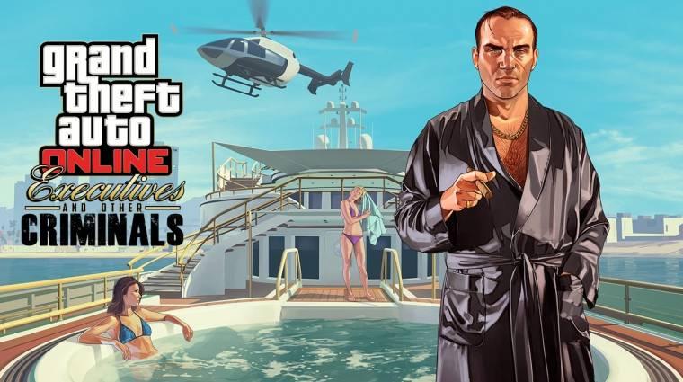 Grand Theft Auto Online - luxus életünk lehet a következő frissítéssel (videó) bevezetőkép