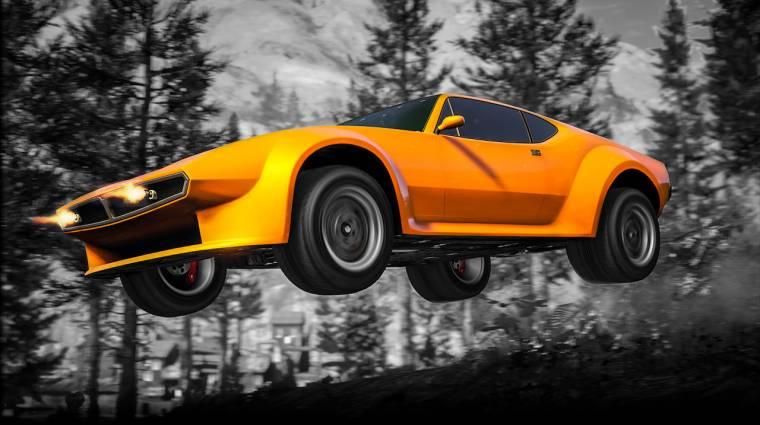 Grand Theft Auto Online - villámgyors autó jött, és nem is drága bevezetőkép