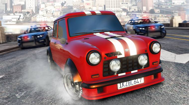 Grand Theft Auto Online - raliautót, klasszikus Minit, új módot hozott a heti frissítés bevezetőkép