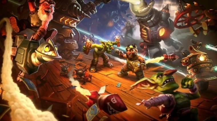 Hearthstone - megjelent a Goblins vs Gnomes, ingyen kártya mindenkinek bevezetőkép