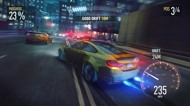 Need for Speed: No Limits - ma végre megjelenik a mobilos NFS bevezetőkép
