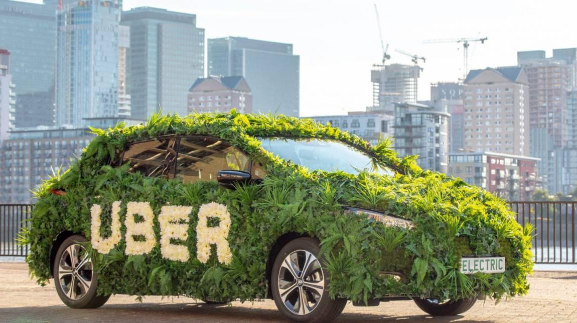 2030-ra teljesen elektromos autókra vált az Uber kép