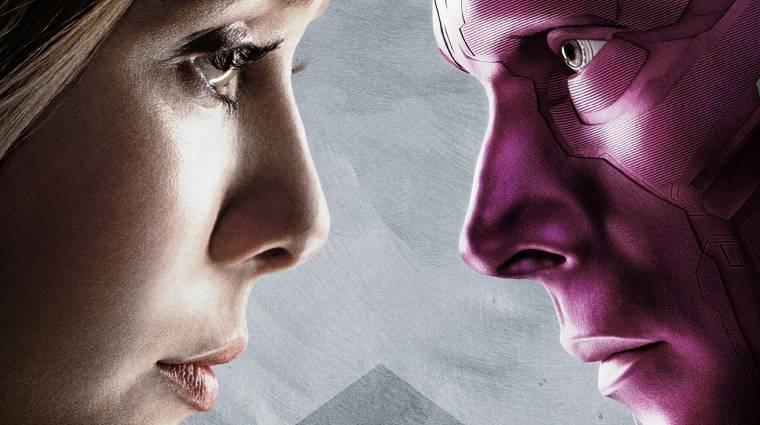 Avengers: Infinity War - Skarlát Boszorkány és Vízió egészen fura helyzetben bevezetőkép