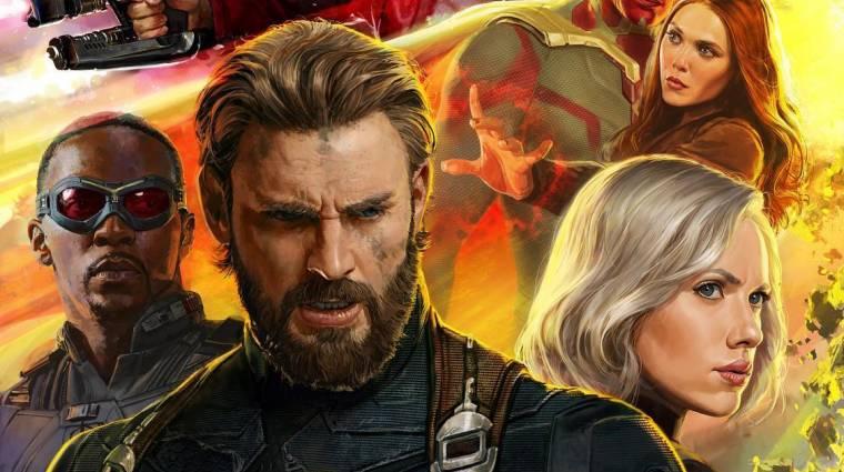 Valakire nagyon emlékeztet Amerika Kapitány az Avengers: Infinity War poszterén bevezetőkép