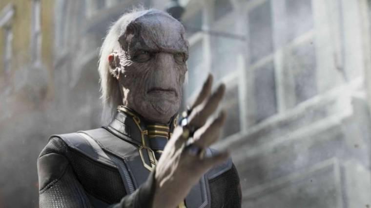 Bosszúállók: Végtelen háború - így nézett volna ki eredetileg Thanos egyik csatlósa kép