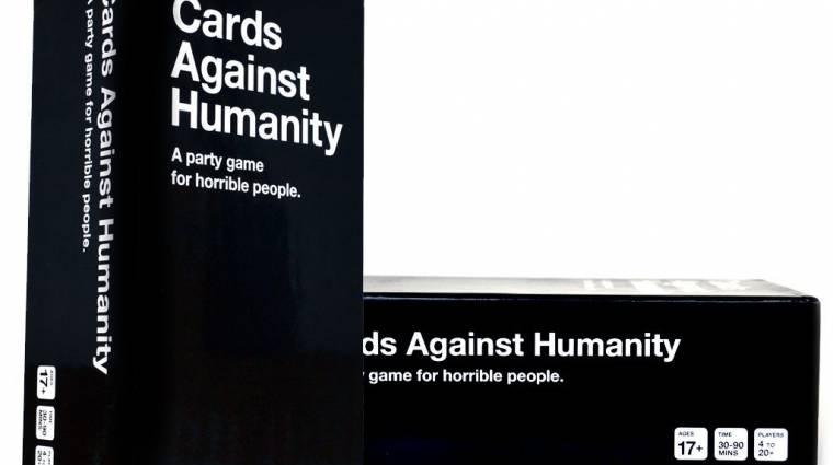 Cards Against Humanity - kellemetlen meglepetés azoknak, akik a Fekete Pénteken vásároltak bevezetőkép