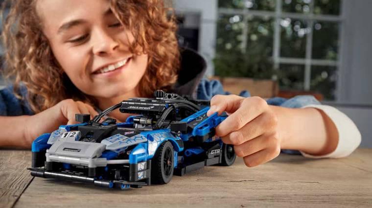 Egészen szép lesz a LEGO Technic McLaren Senna GTR bevezetőkép