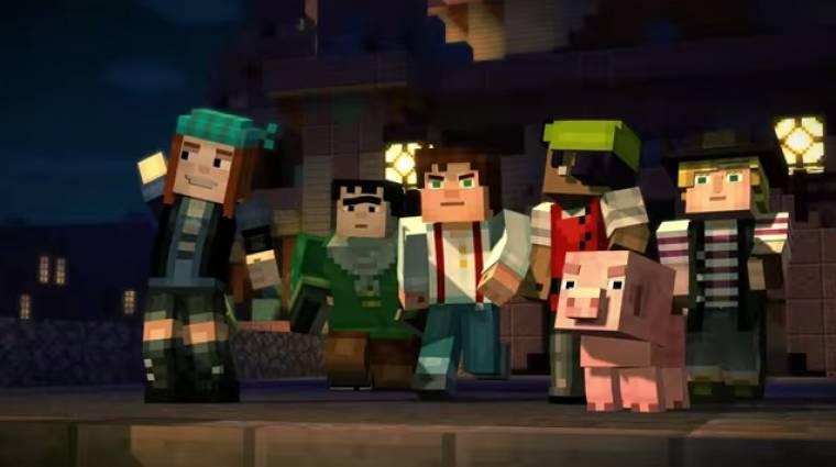 Minecraft: Story Mode megjelenés - tényleg nem kell sokat várni bevezetőkép