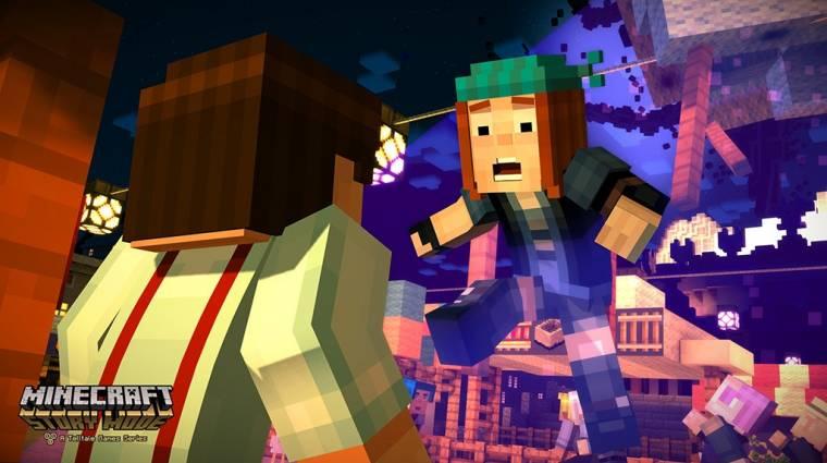 Még a nyáron megjelenhet a Minecraft: Story Mode második évada bevezetőkép