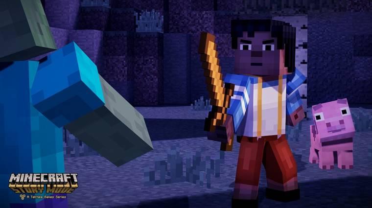 Minecraft: Story Mode - több karakter közül választhatunk bevezetőkép