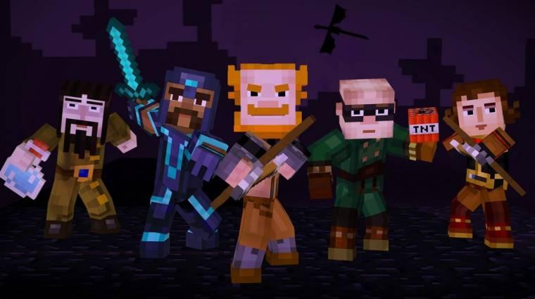 Minecraft: Story Mode - már tudjuk, mikor jön a negyedik rész bevezetőkép