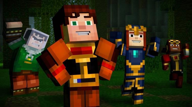 Minecraft: Story Mode Episode 8 - ekkor jön az utolsó rész bevezetőkép