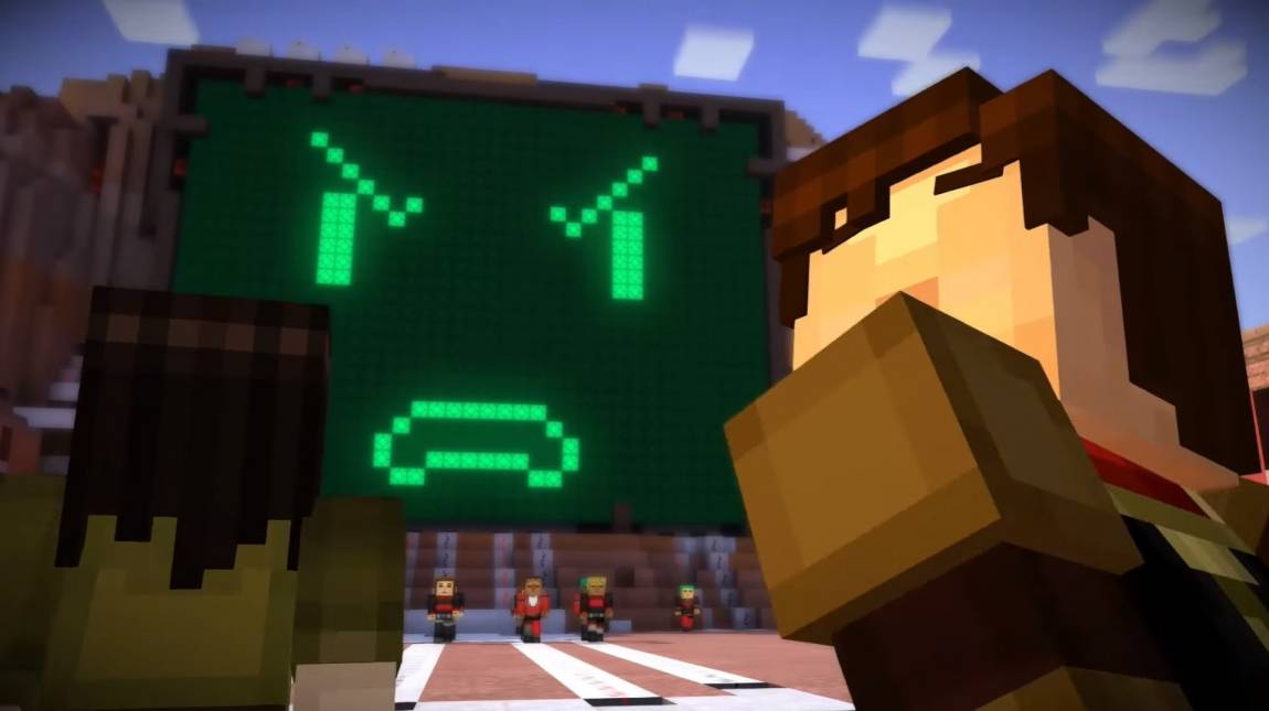 Minecraft: Story Mode - jövő héten jön az új rész bevezetőkép