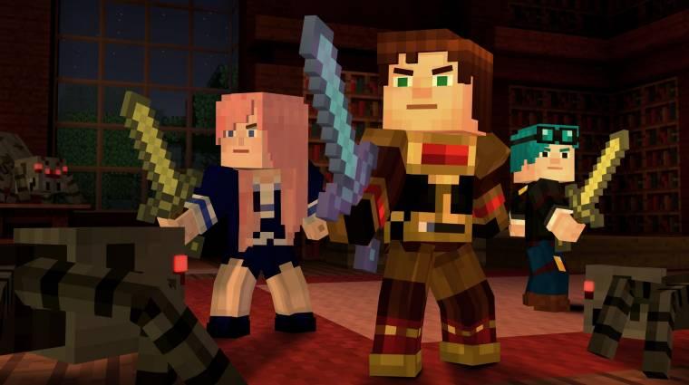 Minecraft: Story Mode - közel 260 ezer forintért lehet most megvenni az összes részt bevezetőkép