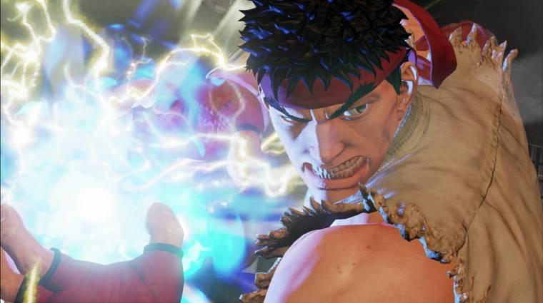 Street Fighter V megjelenés - ezzel sem játszunk már idén bevezetőkép